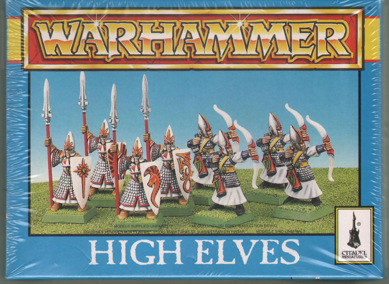 Oldhammer High Elves plastic Archer